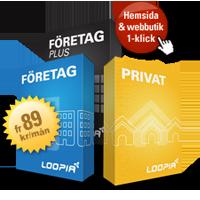 Loopia Privat- och Företagspaket